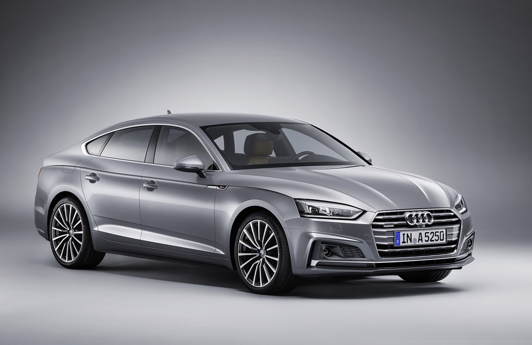 The new 2017 Audi A5 Sportback: a Paris motor show debut