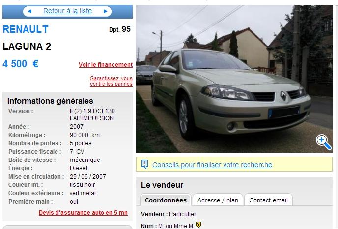 Peut On Aujourd Hui Acheter Une Renault Laguna 2 Les Yeux Fermes