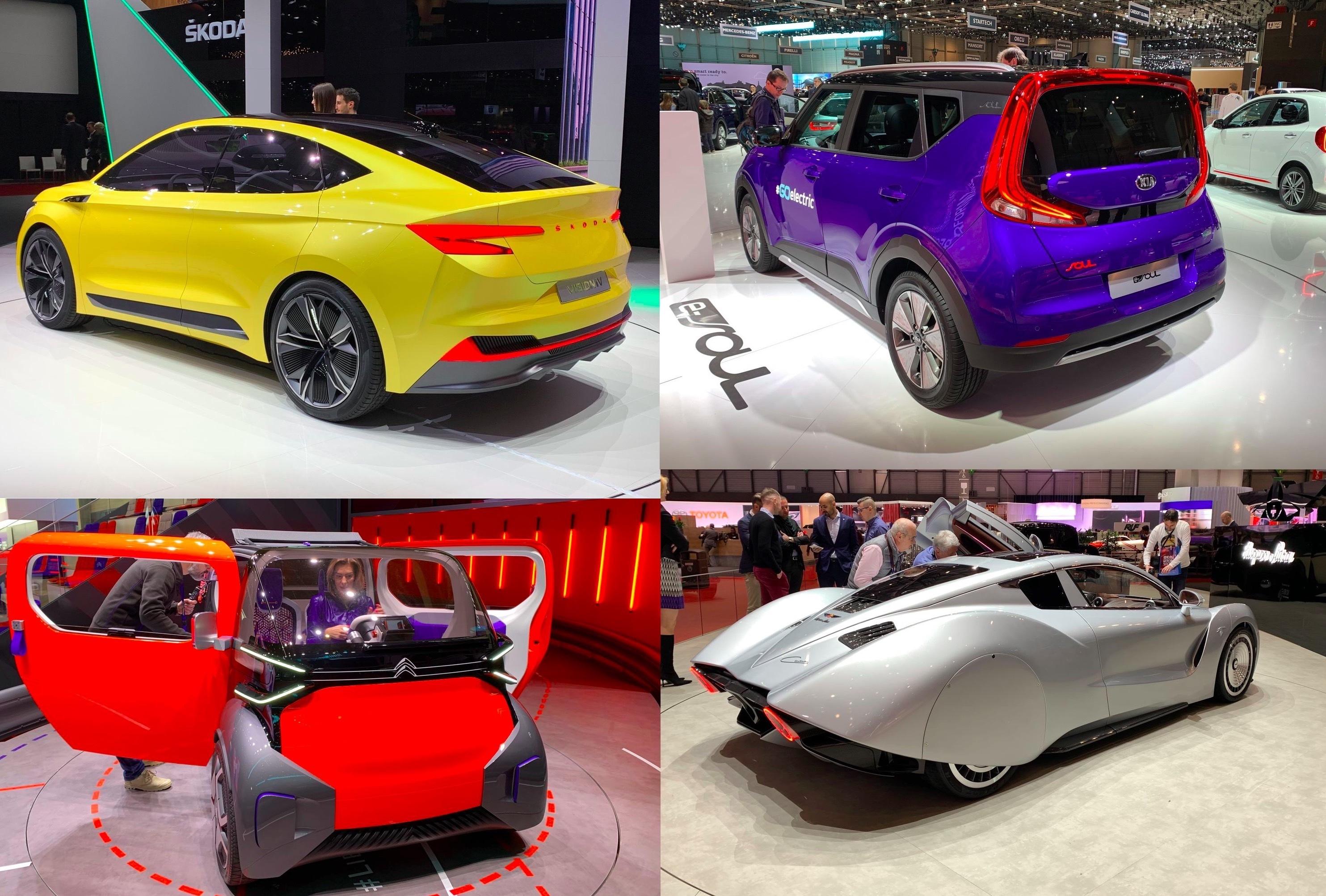 Choisissez la voiture la plus moche du Salon de Genve 2019