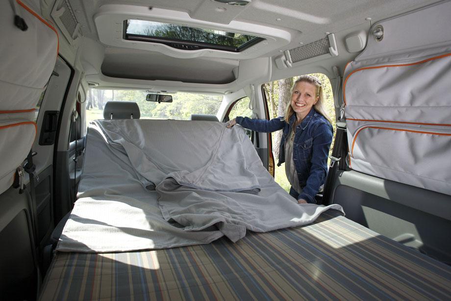 Volkswagen Caddy Maxi Tramper  le grand ludospace ddi