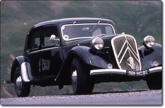 Citron Traction 19341957  La reine de la route