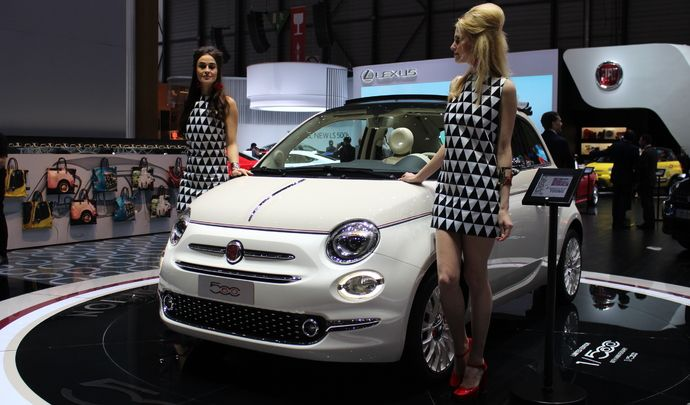 Fiat 500 60e anniversaire  happy birthday  En direct du salon de Genve 2017