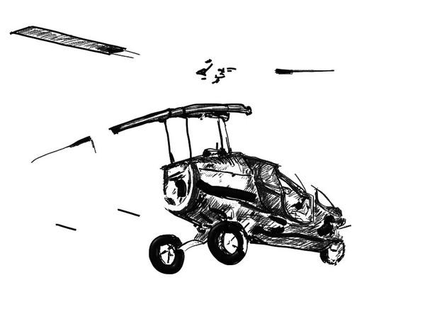 Temporalité de la voiture volante PAL-V One/Retour vers le