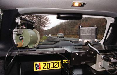 Quelles sont les voitures radars