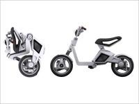 MIT Media Lab Smart Cities : un scooter électrique pliable