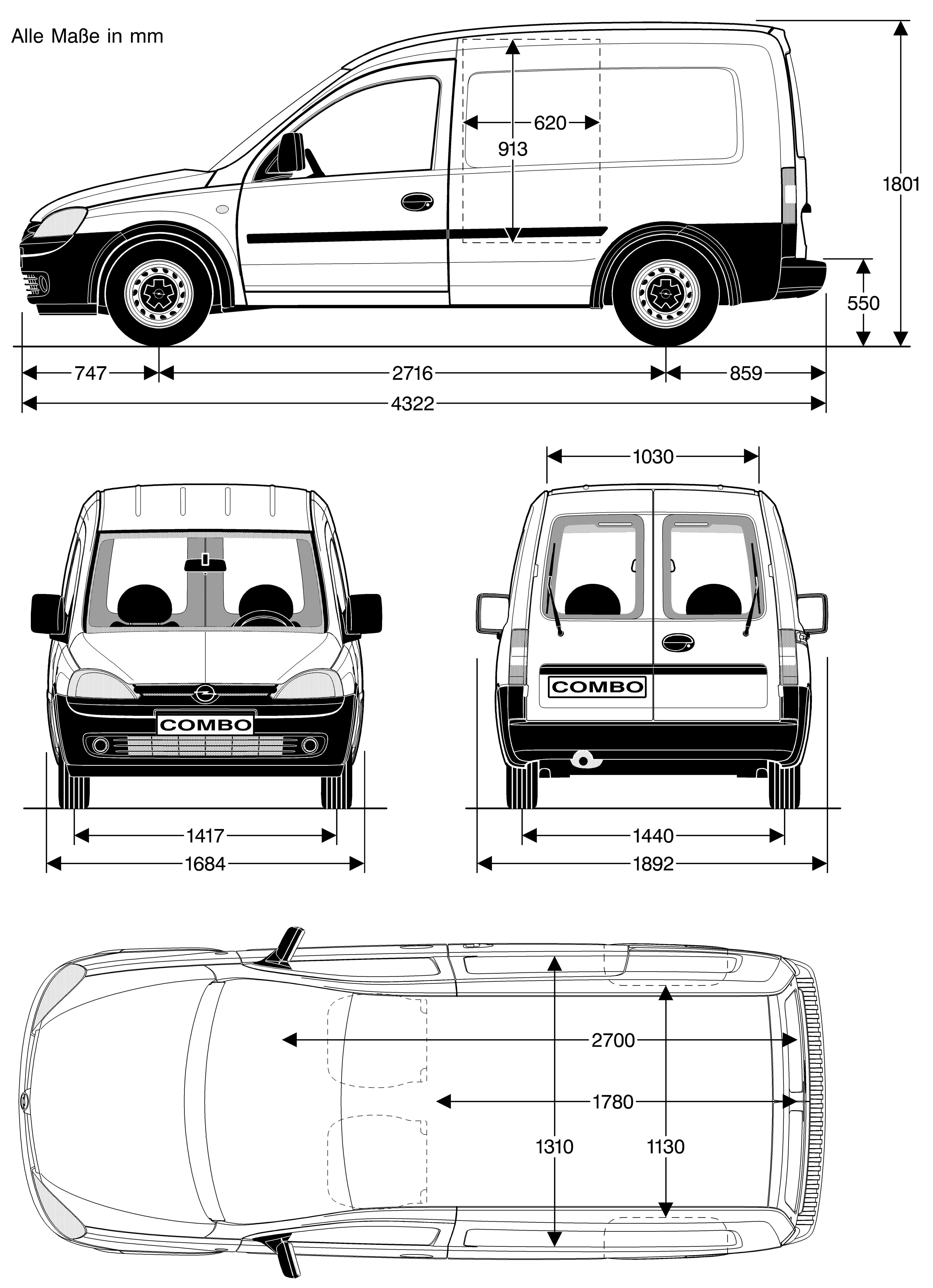 Photos Opel Combo