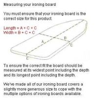 Dimensions For Ironing Board That Folds Pictures to Pin on ...