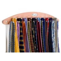 Deluxe Wall Mounted Tie Rack to organize 21 Ties ...