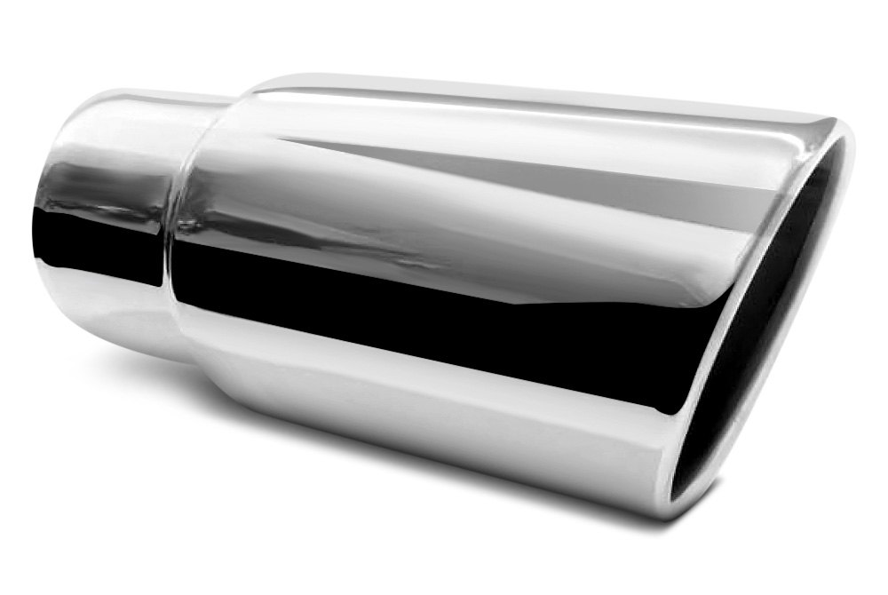 exhaust system with flo pro exhaust tip