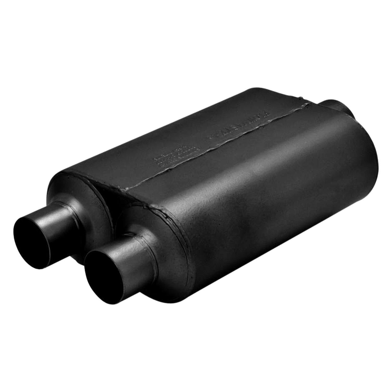 flowmaster super 40 series delta flow oval black exhaust muffler