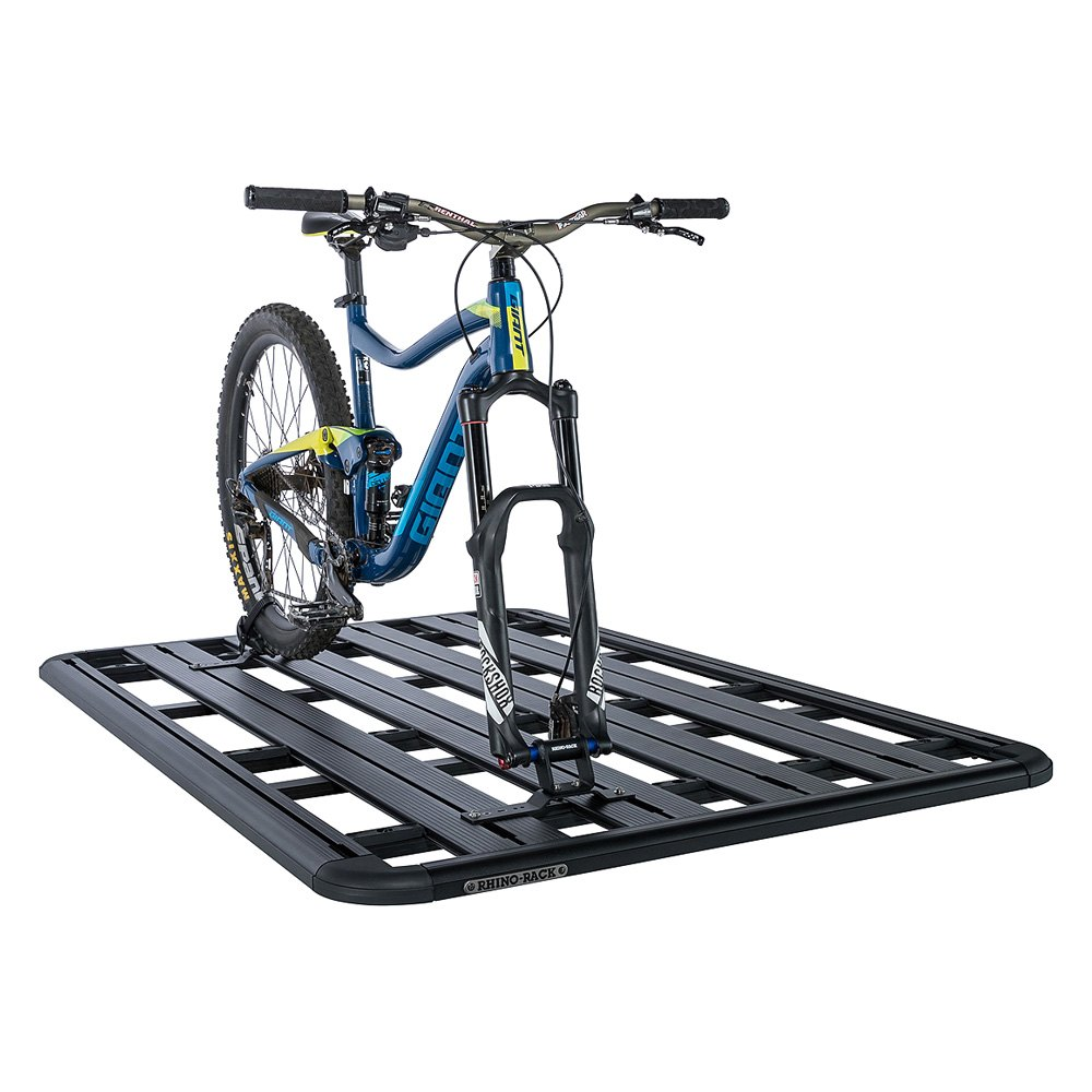 rhino rack 43233 pioneer thru axle roof mount bike rack