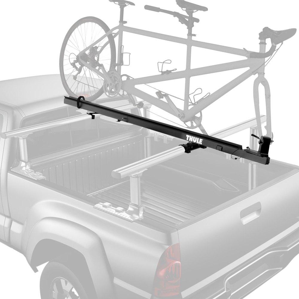 thule tandem carrier pivoting truck bed mount bike rack