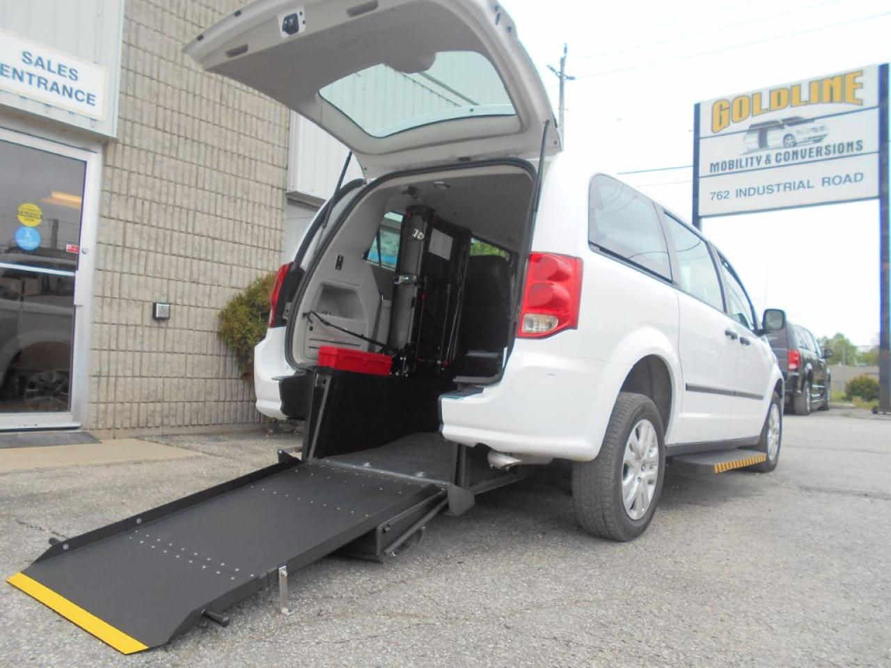 wheelchair cab chair in a half used 2016 dodge grand caravan cvp accessible