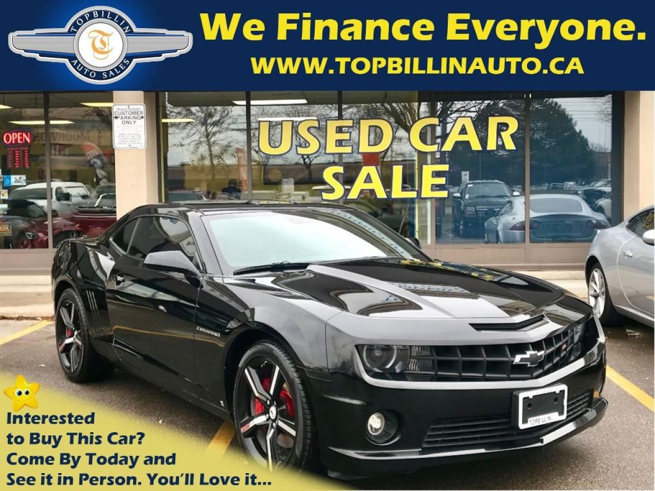 used 2010 chevrolet camaro 2ss 6 speed manual 2 years warranty for sale in vaughan ontario carpages ca [ 1024 x 768 Pixel ]