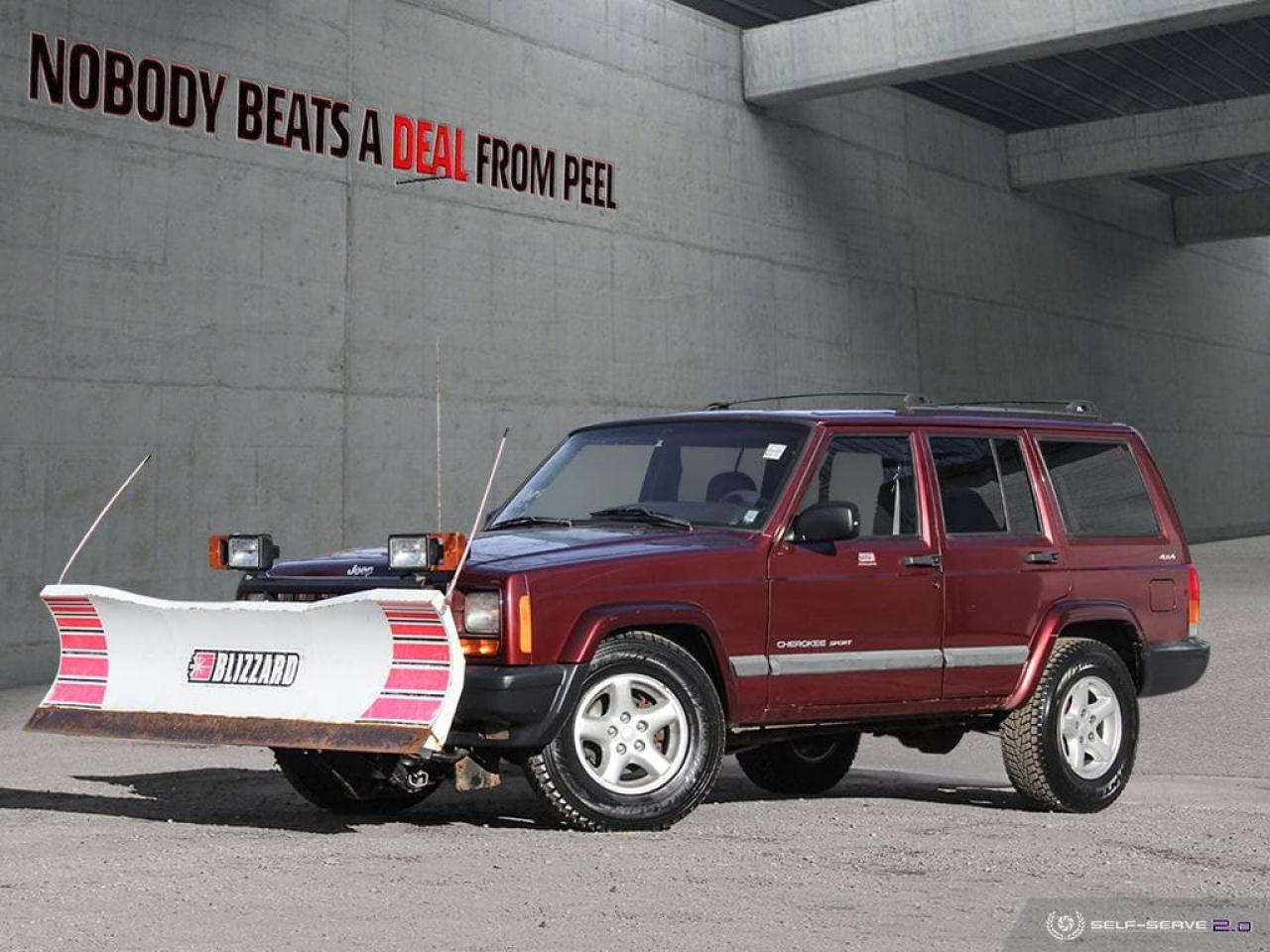 used 2000 jeep cherokee sport blizzard snow plow w remote wintertires com for sale in mississauga ontario carpages ca [ 1024 x 768 Pixel ]