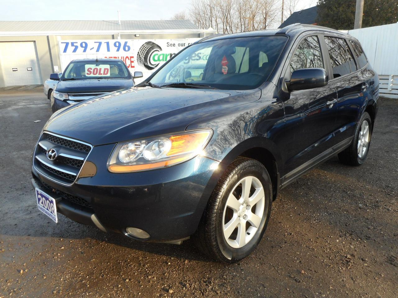 medium resolution of used 2008 hyundai santa fe limited clean carproof certified w warranty for sale in brantford ontario carpages ca