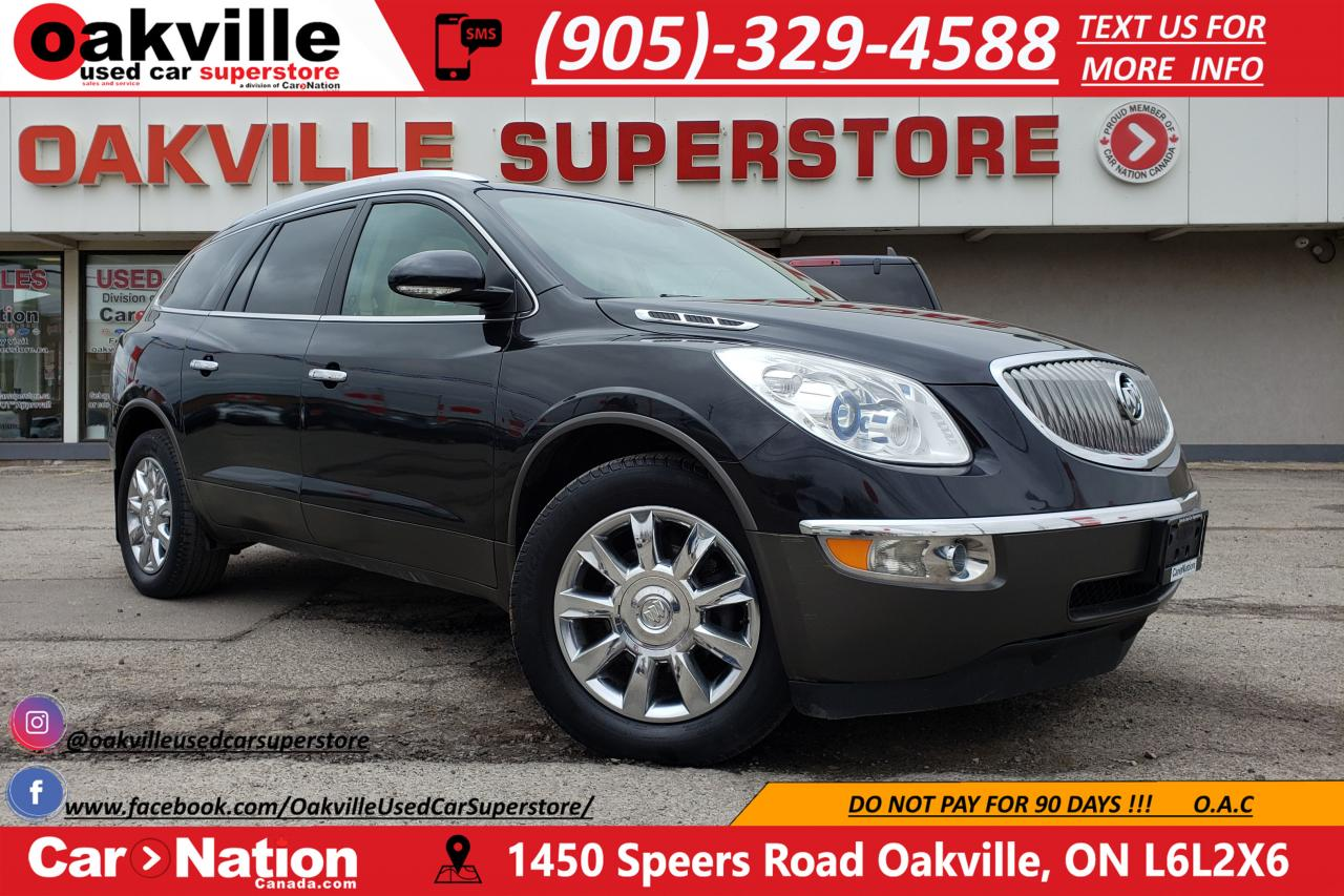 Suv With Captain Chairs Used 2012 Buick Enclave Cxl Leather Nav Captain Chairs B U