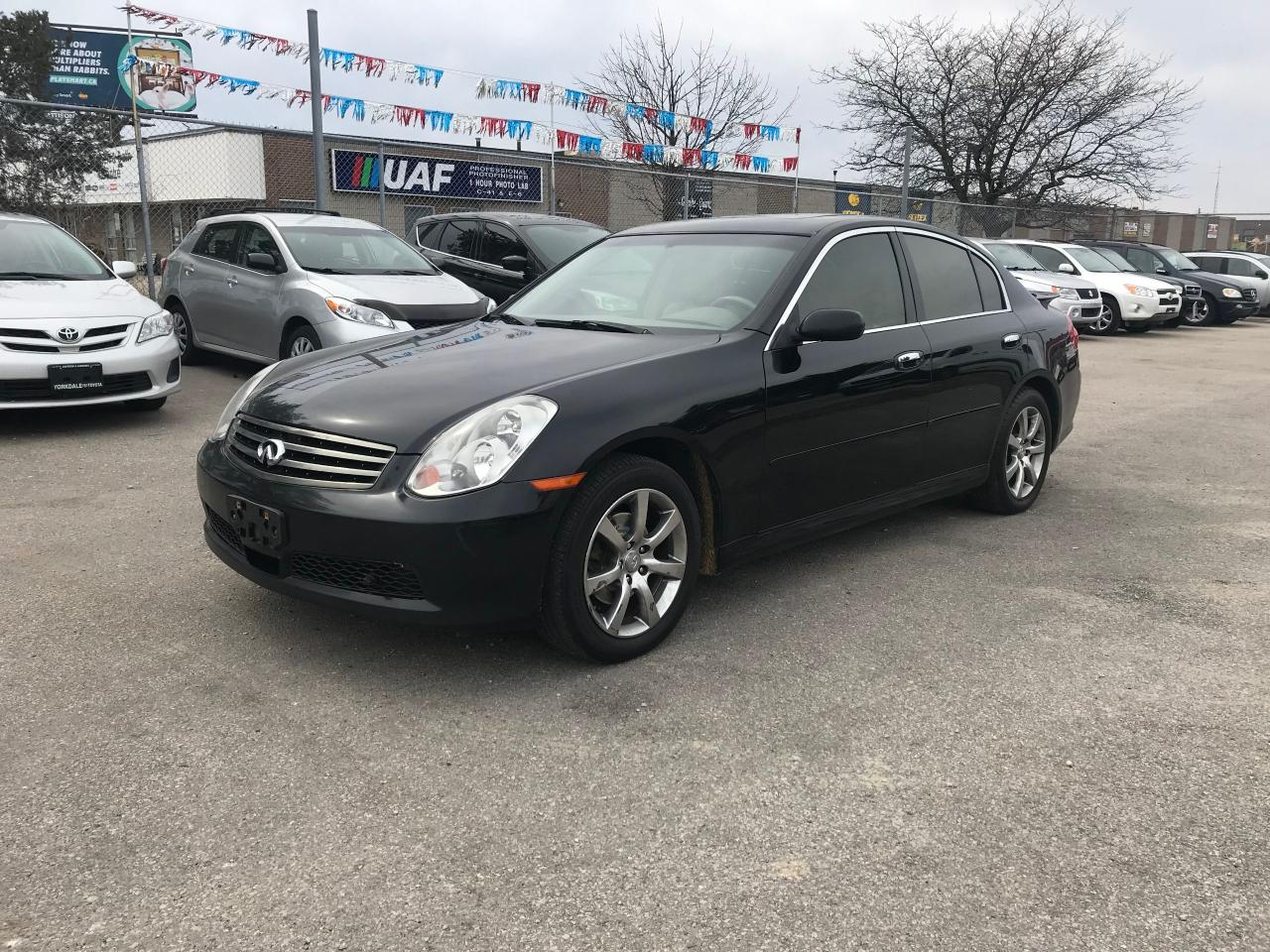 used 2005 infiniti g35x auto awd 4doors 139k safety 3years warranty includ for sale in toronto ontario carpages ca [ 1280 x 960 Pixel ]