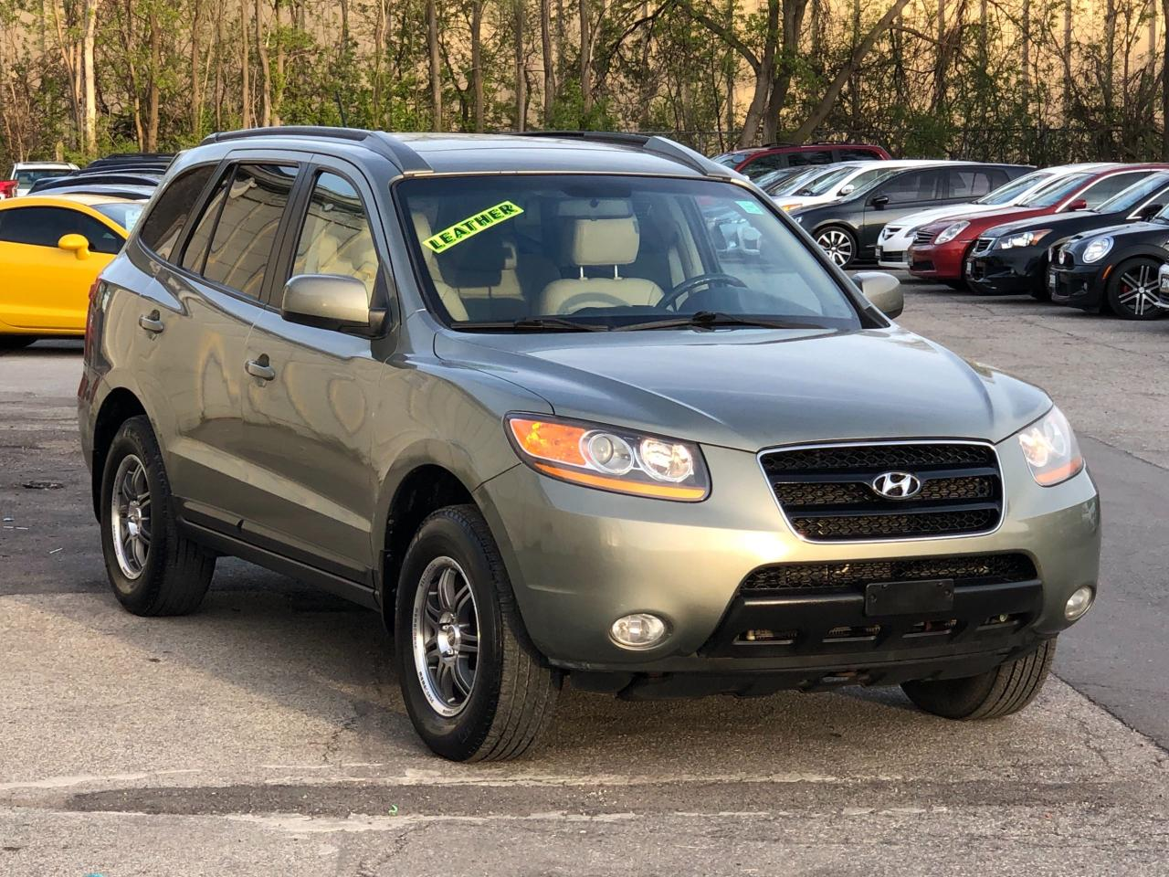 hight resolution of used 2008 hyundai santa fe leather sunroof alloys heated seats fully loaded for sale in mississauga ontario carpages ca