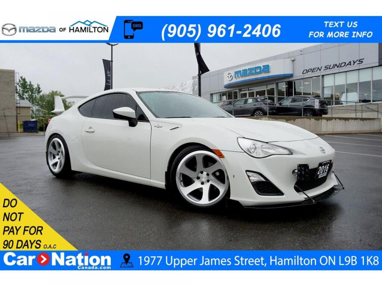 hight resolution of used 2016 scion fr s rear cam rwd touch screen paddle shift for sale in hamilton ontario carpages ca