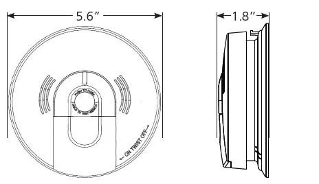 Kidde KN-COSM-IBA Carbon Monoxide & Smoke Detector, 120V