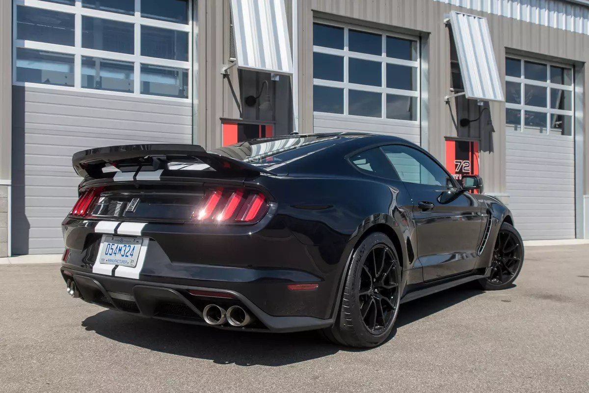 2019 ford mustang shelby gt350 first
