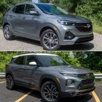 Should You Buy A 2021 Chevrolet Trailblazer Or Spend More For A 2020 Buick Encore Gx News Cars Com
