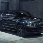 2018 Chevrolet Tahoe Gets Goth Makeover With Midnight Edition News Cars Com