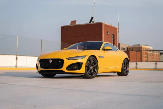 2021 Jaguar F Type R Awd Coupe Review New Style New Tech Same Sexiness Expert Review Cars Com