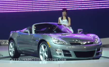Daewoo G2x Gm S Korean Version Of The Saturn Sky