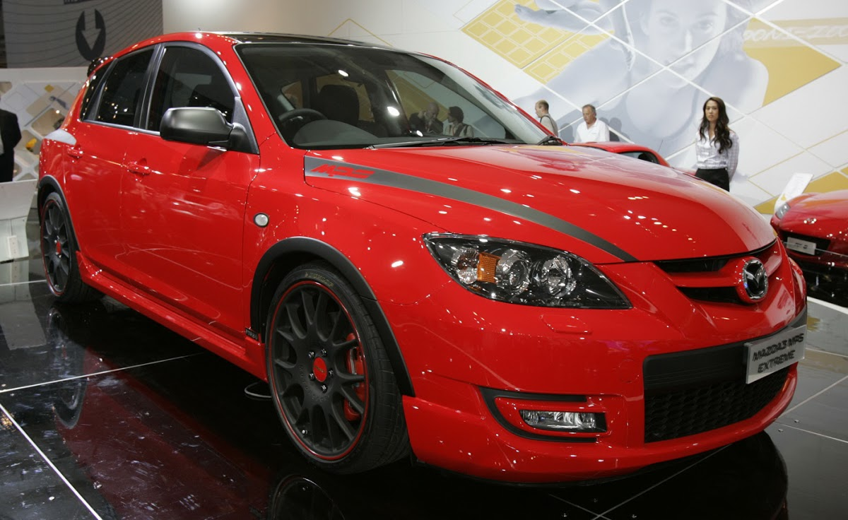 hight resolution of mazda3 mps extreme 282hp 2007 sydney show