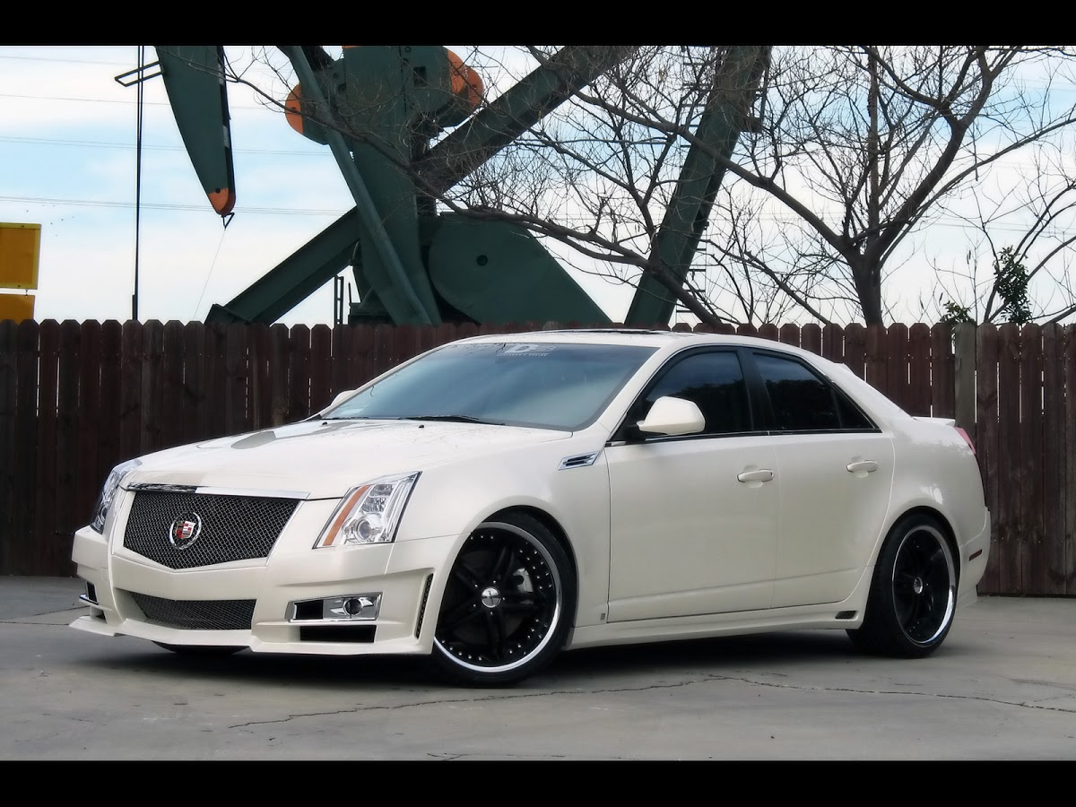 2008 Cadillac Cts By D3 Girls Not Included Carscoops