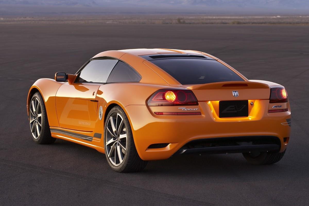Detroit Show Dodge Circuit Ev Aka All Electric Lotus Europa
