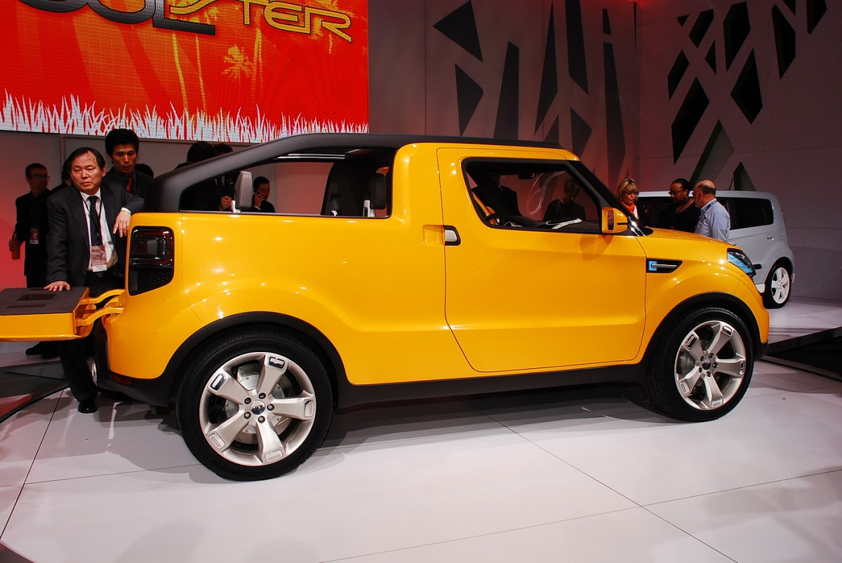 Detroit Show Kia S Fun Soulster Pickup Concept Carscoops