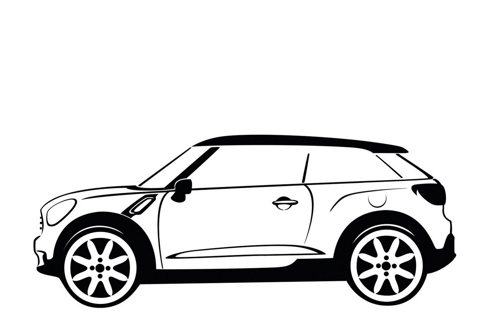 MINI Paceman Concept: Crossman Coupe Study Previewed Ahead