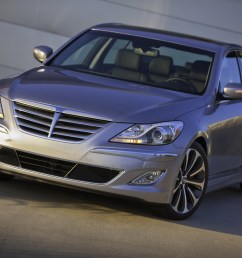 2012 hyundai genesis sedan facelift gains 5 0 v8 r spec variant with 429hp plus updated gdi v6 carscoops [ 1600 x 1067 Pixel ]