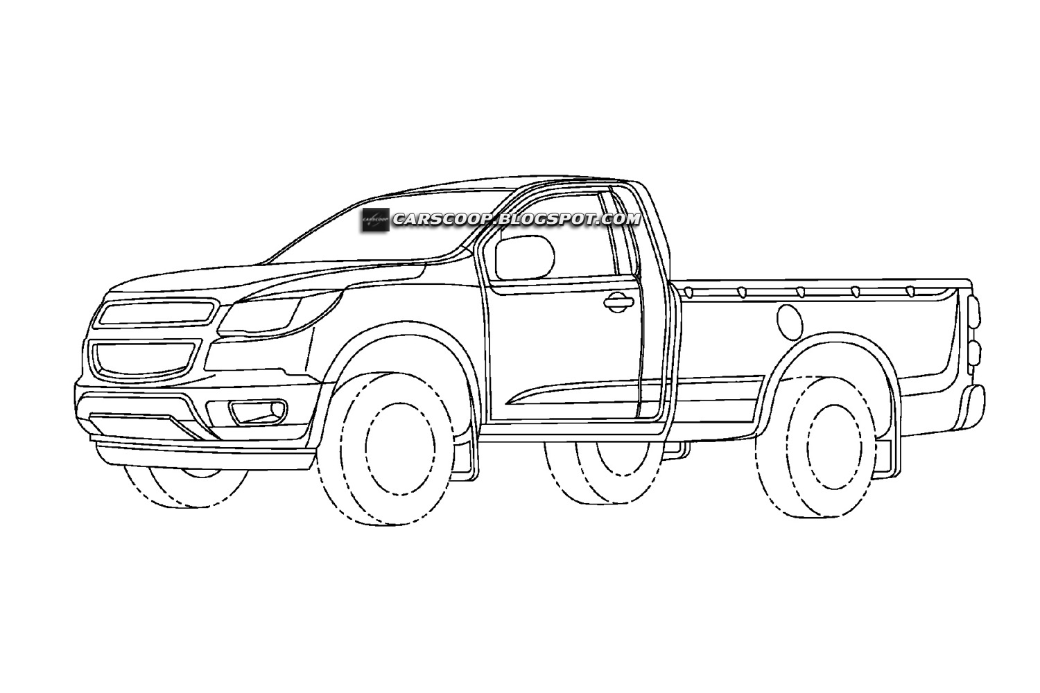 Chevrolet Teases New Colorado Mid-Size Pickup Truck