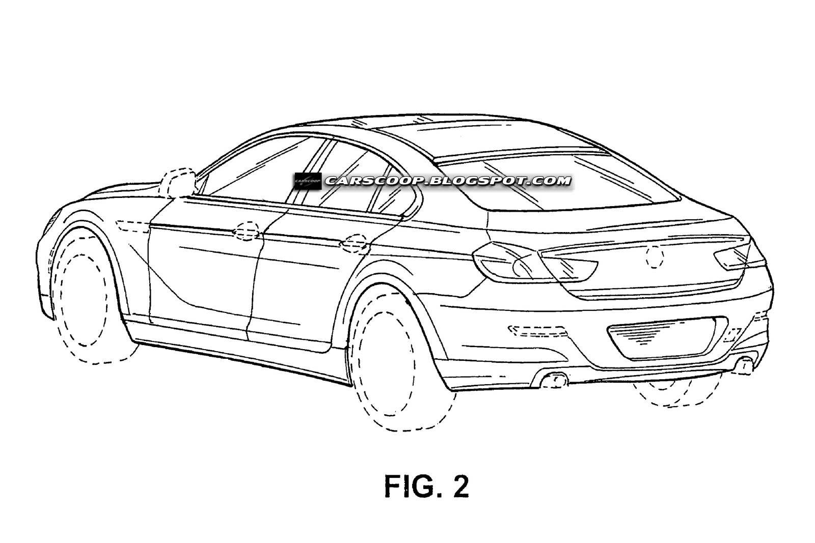 Official Patent Designs of BMW's New Four-Door Sports