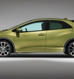 new 2012 honda civic hatchback priced from 16 495 in the uk [ 1600 x 1067 Pixel ]