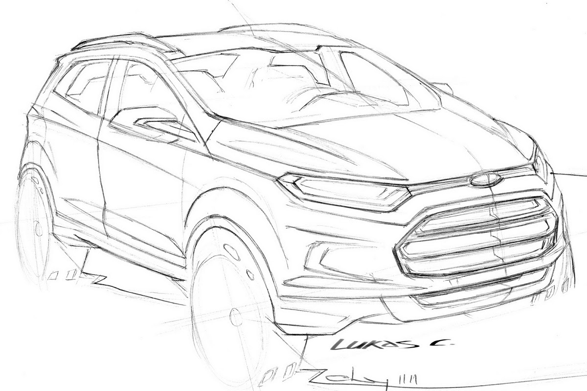 Ford Ecosport Crossover Concept With 1 0 Liter Ecoboost