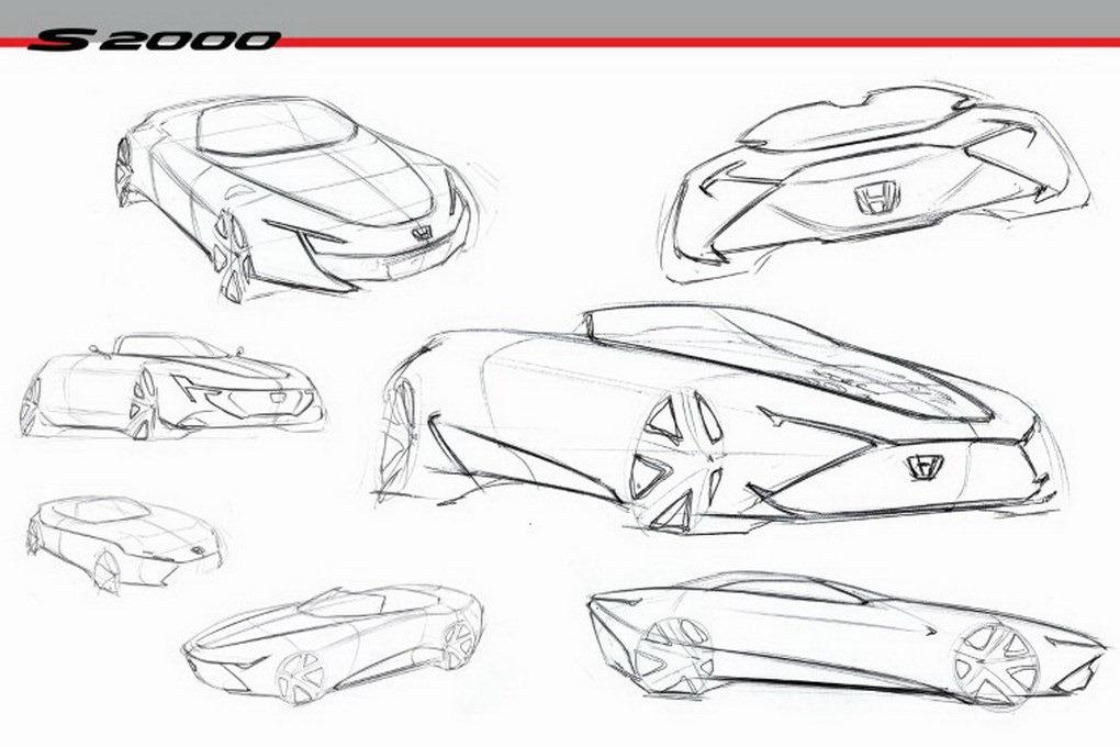 2020 Honda S2000 Concept Concept Automotive Design