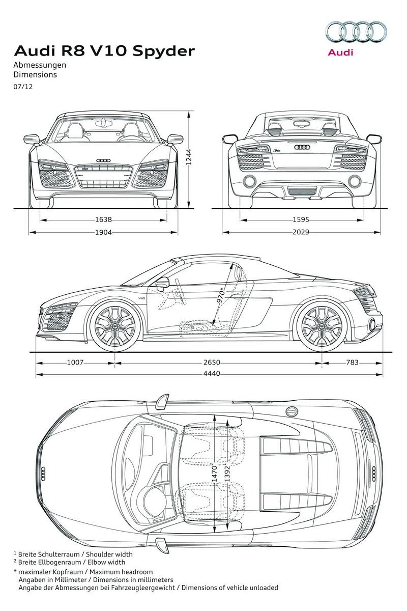 Audi Reveals 2013 R8 Facelift, Debuts New 7-Speed S Tronic