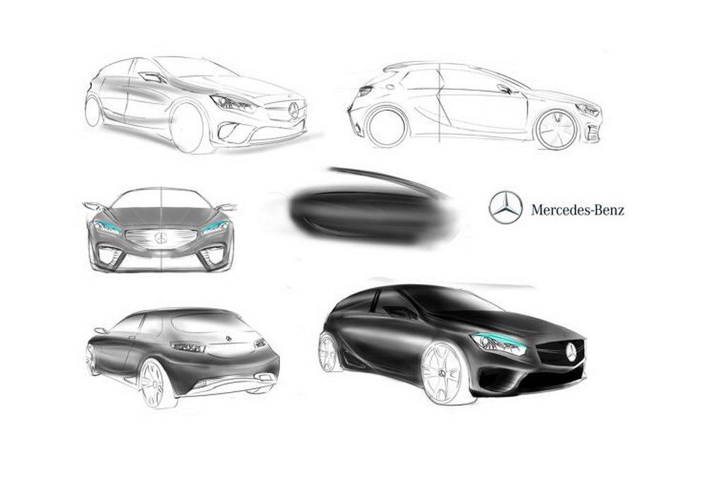 Turkish Designer Imagines a Mercedes-Benz Sub-Compact