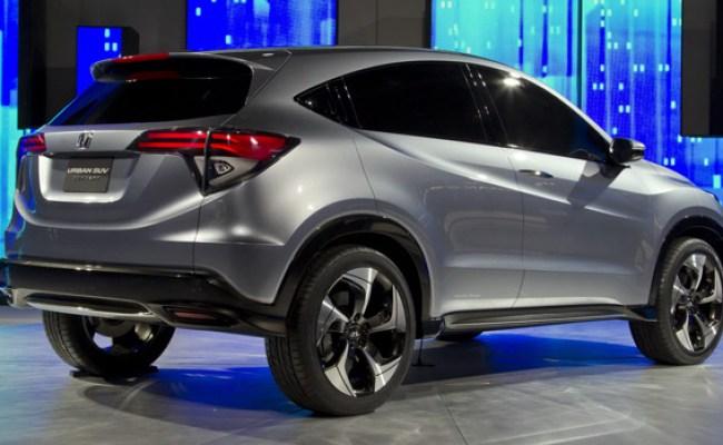 Honda Urban Suv Concept Debuts In Detroit Previews Small