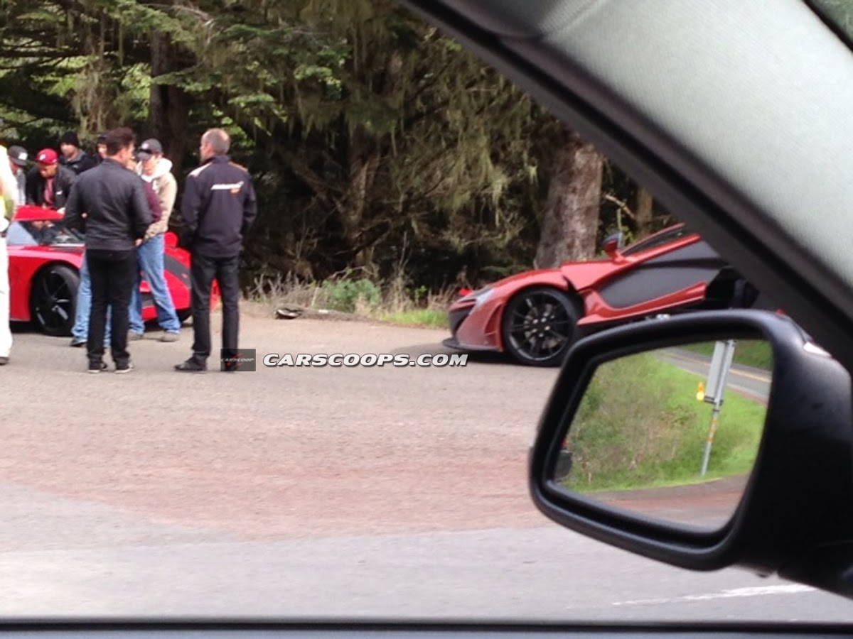 Fresh Photos from Need for Speed Movie Set with McLaren P1