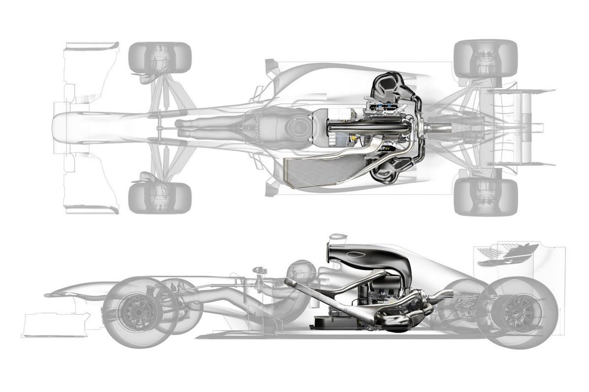 Renault Details F1 1 6 Liter V6 Turbo Unit 760 Hp