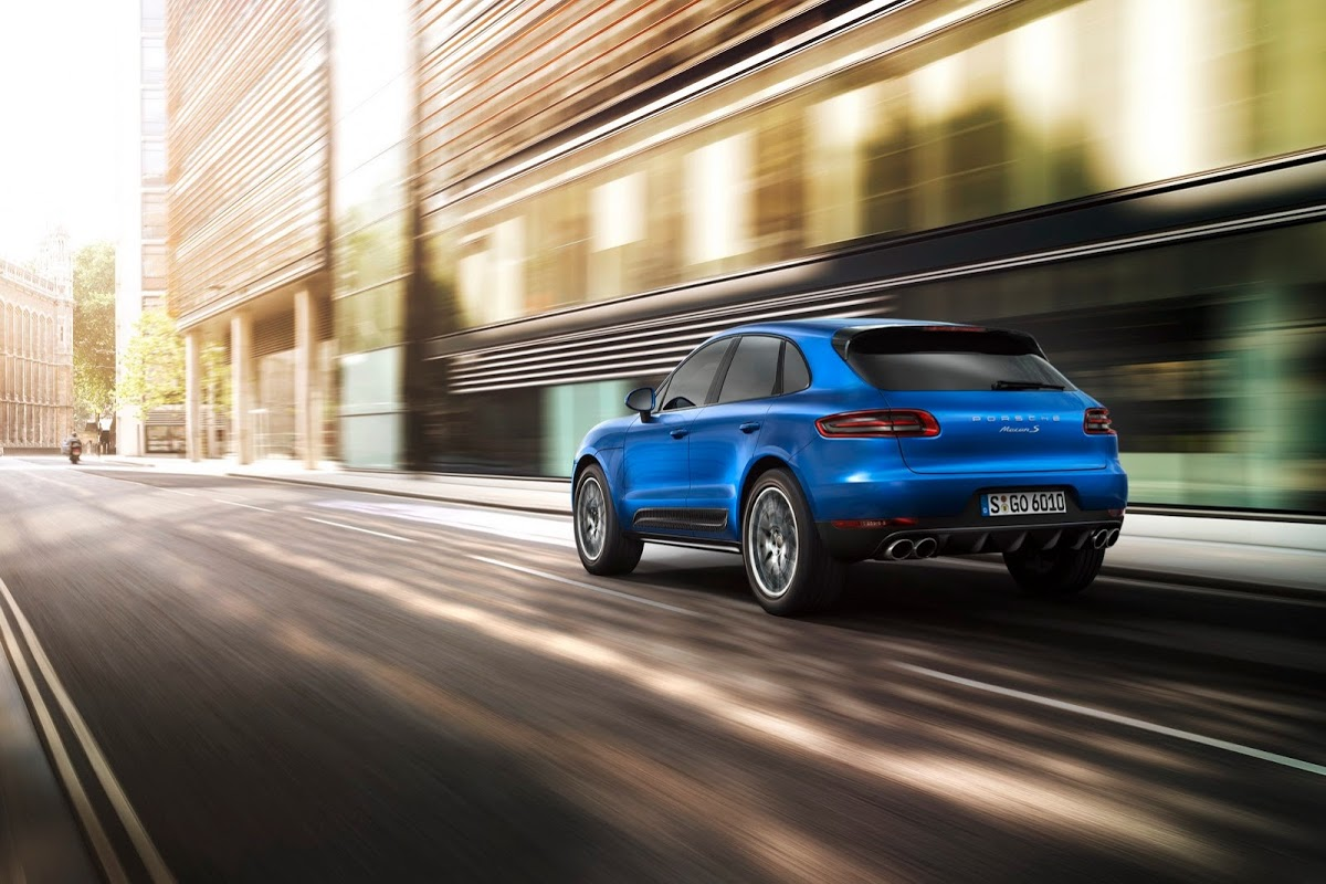 Cars Wallpaper Infront Of Skyline New Porsche Macan Suv Priced From 50 895 In The Usa