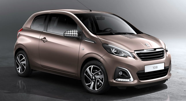 Peugeot Unveils Cute New 108 City Car Carscoops