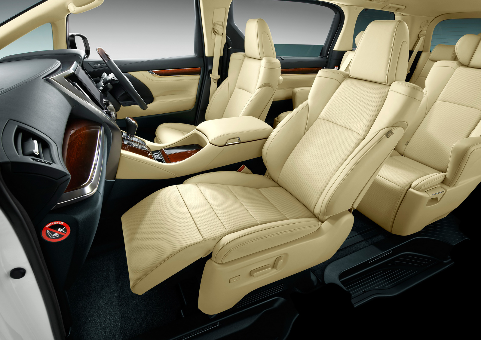 all new vellfire 2015 interior spare part grand veloz toyota unveils alphard and minivans in japan carscoops