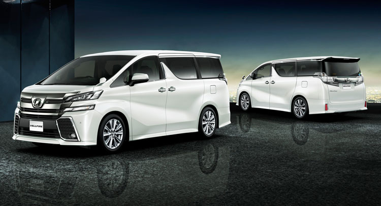 all new alphard 2018 redesign toyota yaris vitz trd turbo step 2 unveils and vellfire minivans in japan carscoops